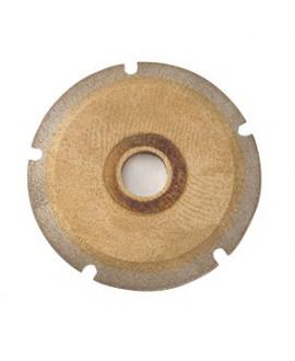 Muela ranuradora automática policarbonato