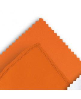 Microfibra naranja, 10 x 15mm. 100 Un.