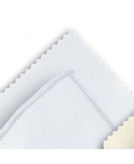Microfibra blanca, 10 x 15mm. 100 Un.