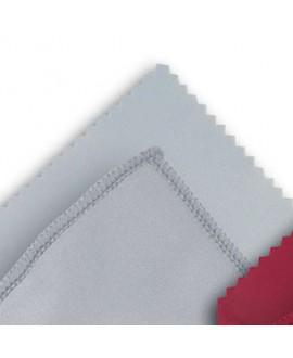 Microfibra gris, 15 x 18 mm. 100 Un.