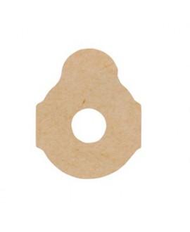 Pegatinas, tejido 3M, 24 mm. 1000 Un.