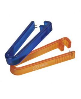 Pinza extractor, perno plástico, 1.8 mm