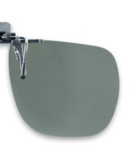Suplemento pinza abatible, gris, polarizado 65 x 56 mm