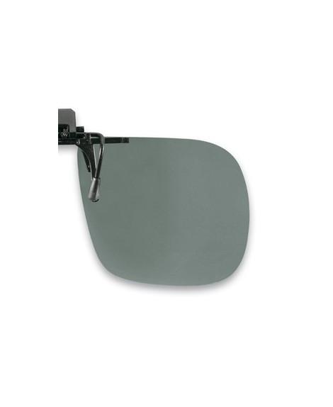 Suplemento pinza abatible, gris, polarizado 60 x 52 mm