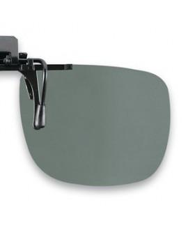 Suplemento pinza abatible, gris,polarizado 54 x 43 mm