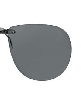 Suplemento pinza fija, gris, polarizado 62 x 54 mm