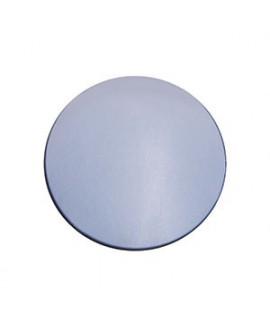 Lente CR-39, espejo plata, polarizada, B6,  2 Un.