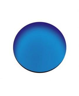 Lente CR-39, espejo azul, B6,  2 Un.