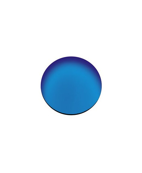 Lente CR-39, espejo azul, B8, 2 Un.