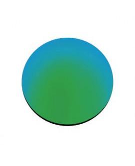 Lente CR-39, espejo verde, polarizada, B6,  2 Un.