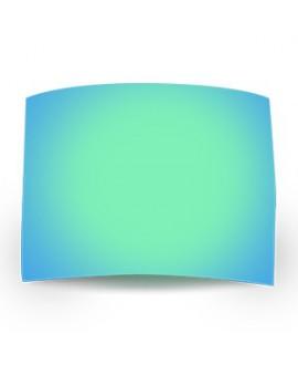 Lámina Espejo Verde Polarizada