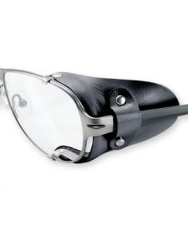 Protector lateral Cuero Negro ( Par )