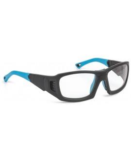 Ledaer PROX, negra mate/azul, s
