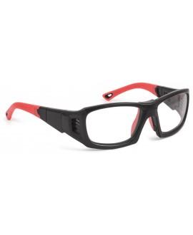 Leader PROX, negra brillante/roja, l
