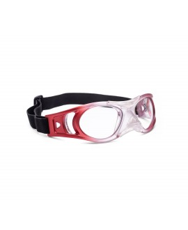 Gafa deportiva junior matte red