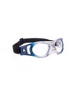 Gafa deportiva junior matte blue