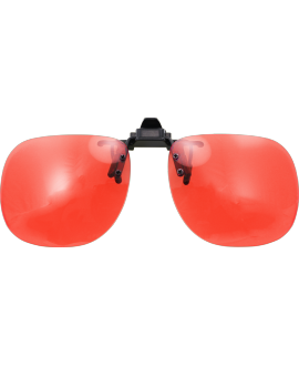 Clip abatible baja visión marrón 550